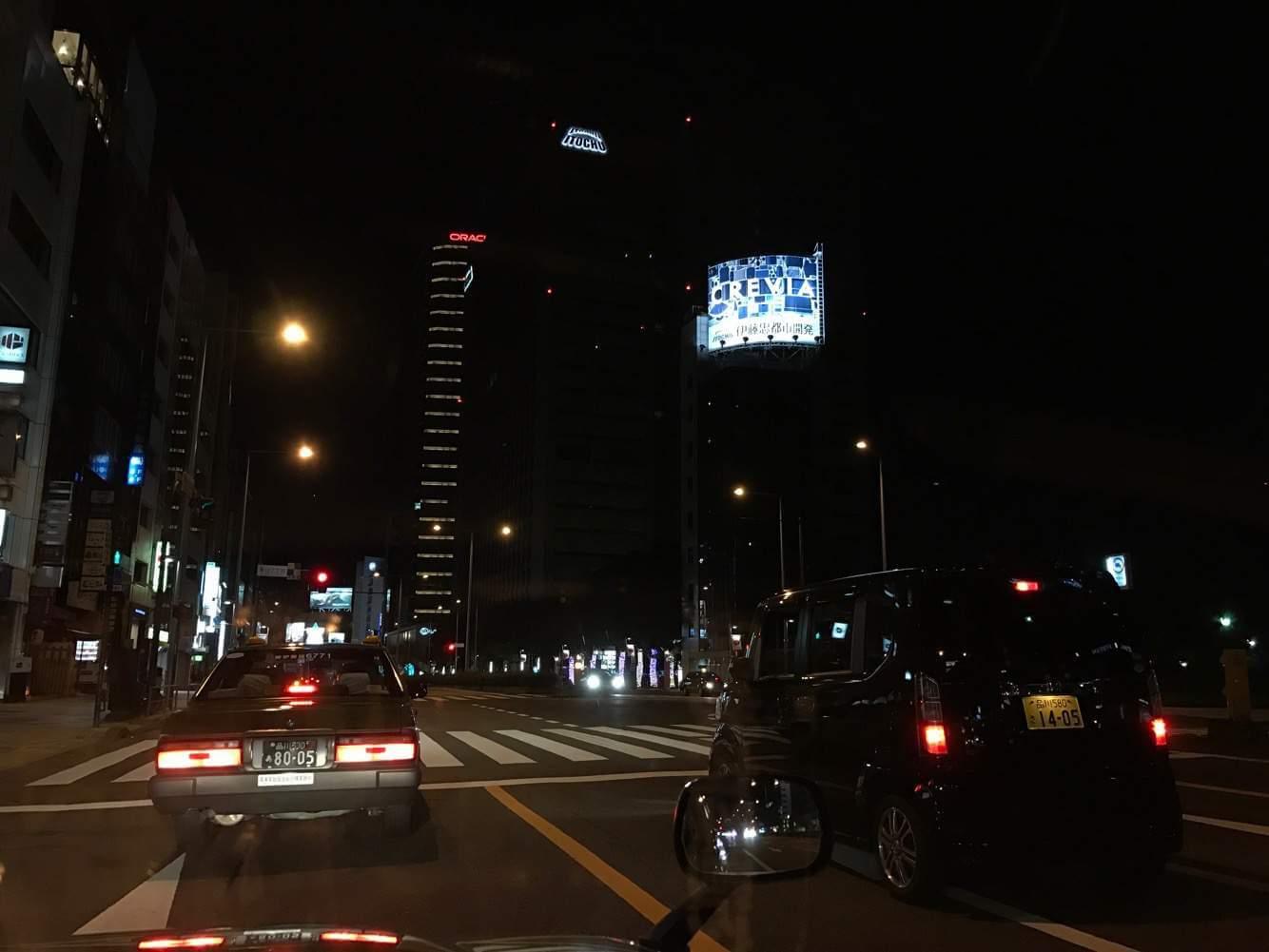 タクシー乗務ではじめての年越し。2017年もよろしくお願いします!【乗務記録143日目】