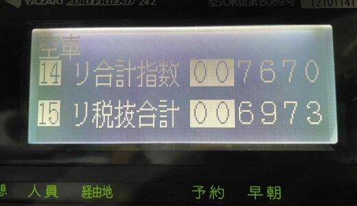 2021/05/08(日)〜05/20(木)の乗務記録まとめ
